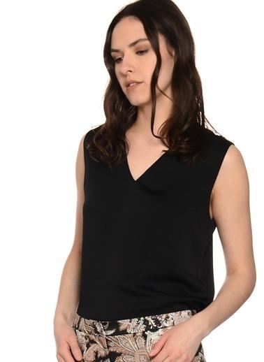 Beymen Studio Kolsuz Bluz Siyah